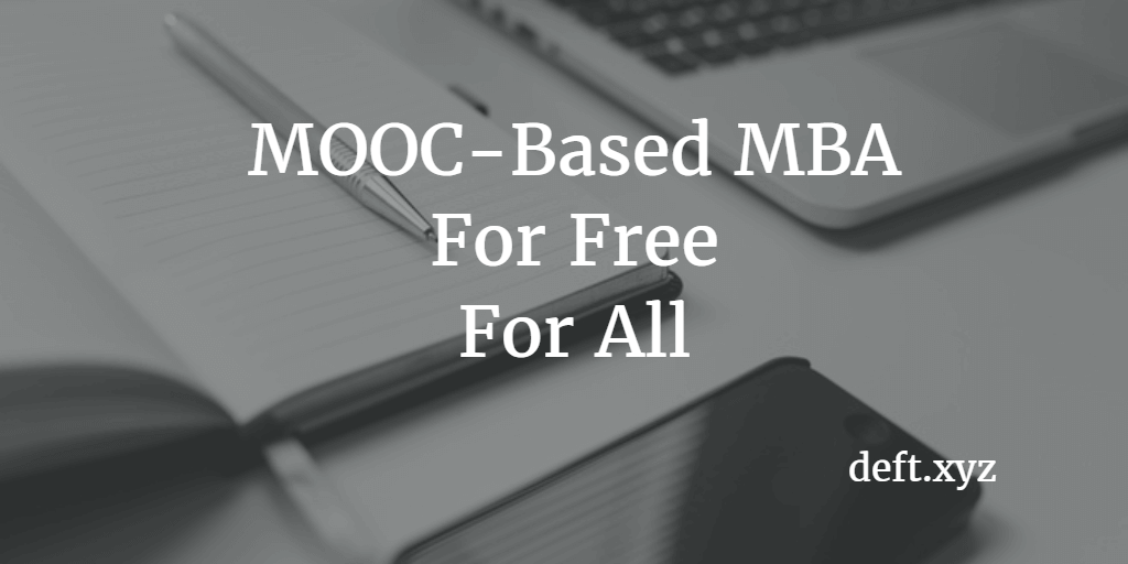 MOOC-Based MBA
